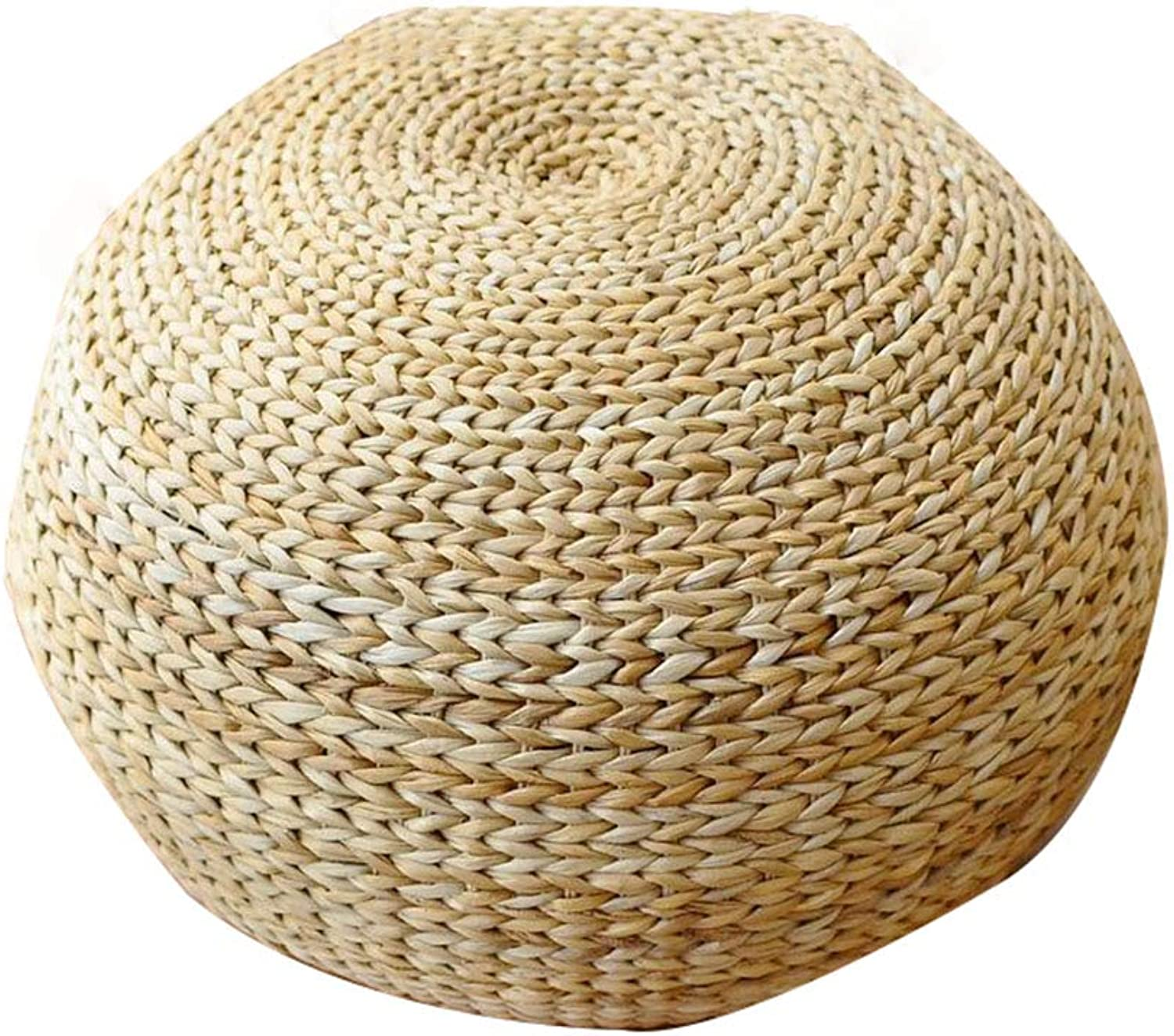 Small Stool, Rattan, Round Stool, Woven Seat, Stylish and Creative,a