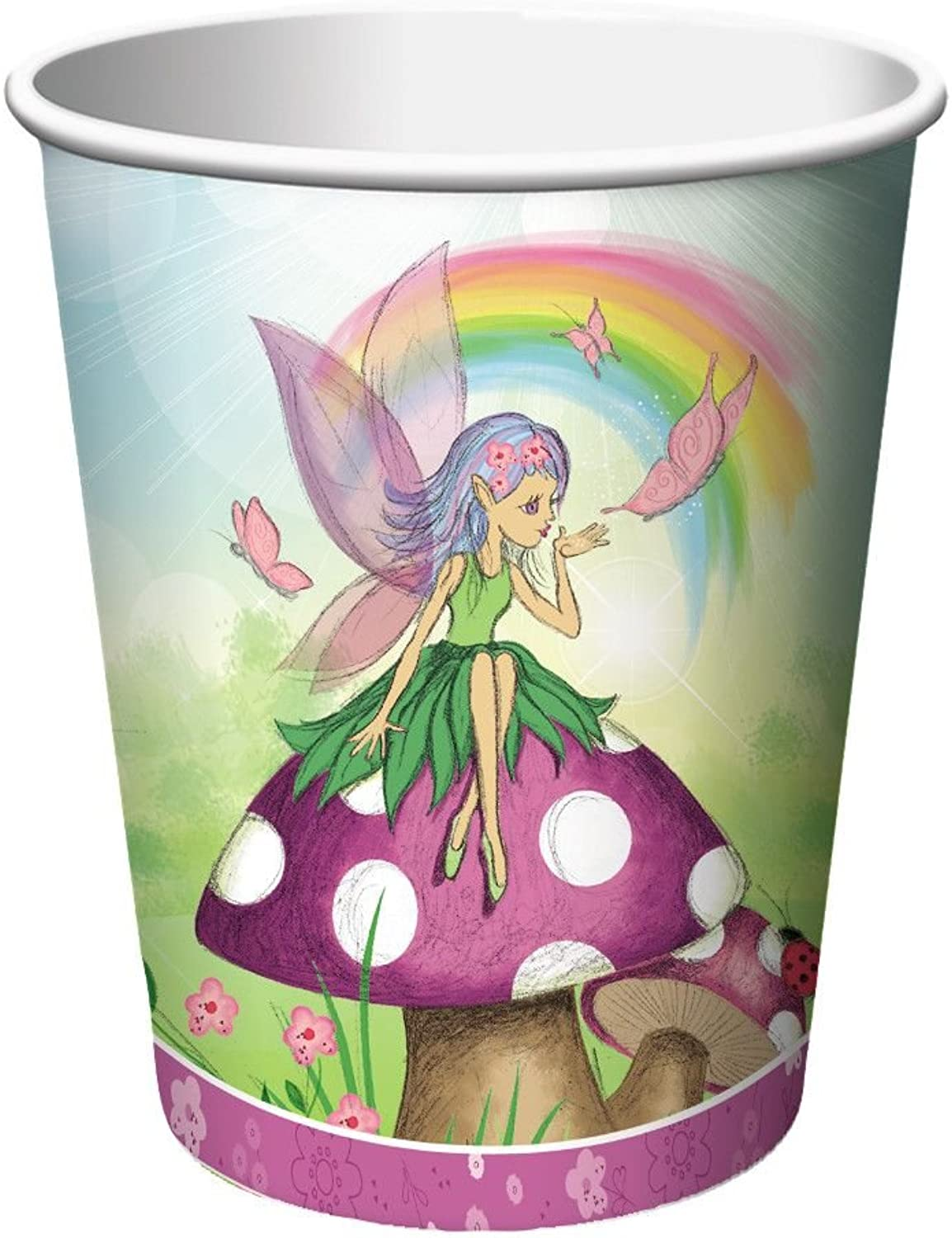 Fancy Fairy9oz Hot Cold Cups (8 pack)