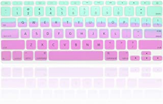 e8a4e86c709 TOP CASE Faded Ombre Series Hot Blue & Purple Silicone Keyboard Cover Skin  Compatible with Macbook