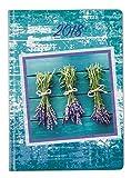 Idena 10741 Minitimer 2018, FSC-Mix, A6, Nature, 144 Seiten, Lavendel