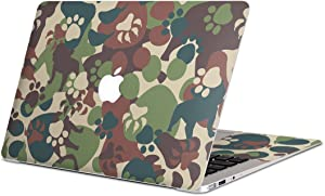 igsticker Skin Decals for MacBook Pro 13 inch 2019/18/17/16(Model A2159/A1989/A1706/A1708) Ultra Thin Premium Protective Body Stickers Skins Universal Cover Camouflage Camouflage Dog