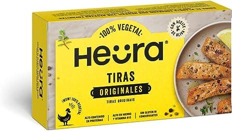 Tiras Originales HEURA 180g | 100% Vegetales | Sin Gluten ...