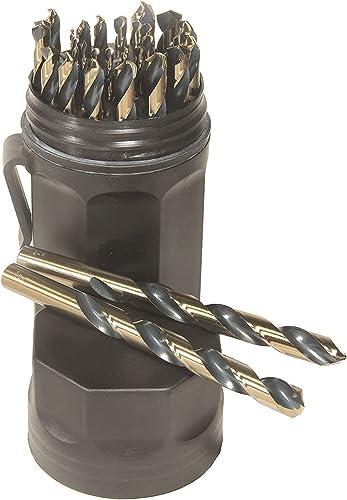 2021 Norseman by high quality Viking Drill and Tool 66820 Ultra Dex SPM-29 Type 250-UB sale 135 Degree Split Point Magnum Sup Premium Mechanical Set (29 Piece),Black,Medium (Single Pack) online
