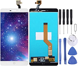 Black YANGJ LCD Screen and Digitizer Full Assembly with Frame for Huawei Enjoy 9 Plus Color : Black