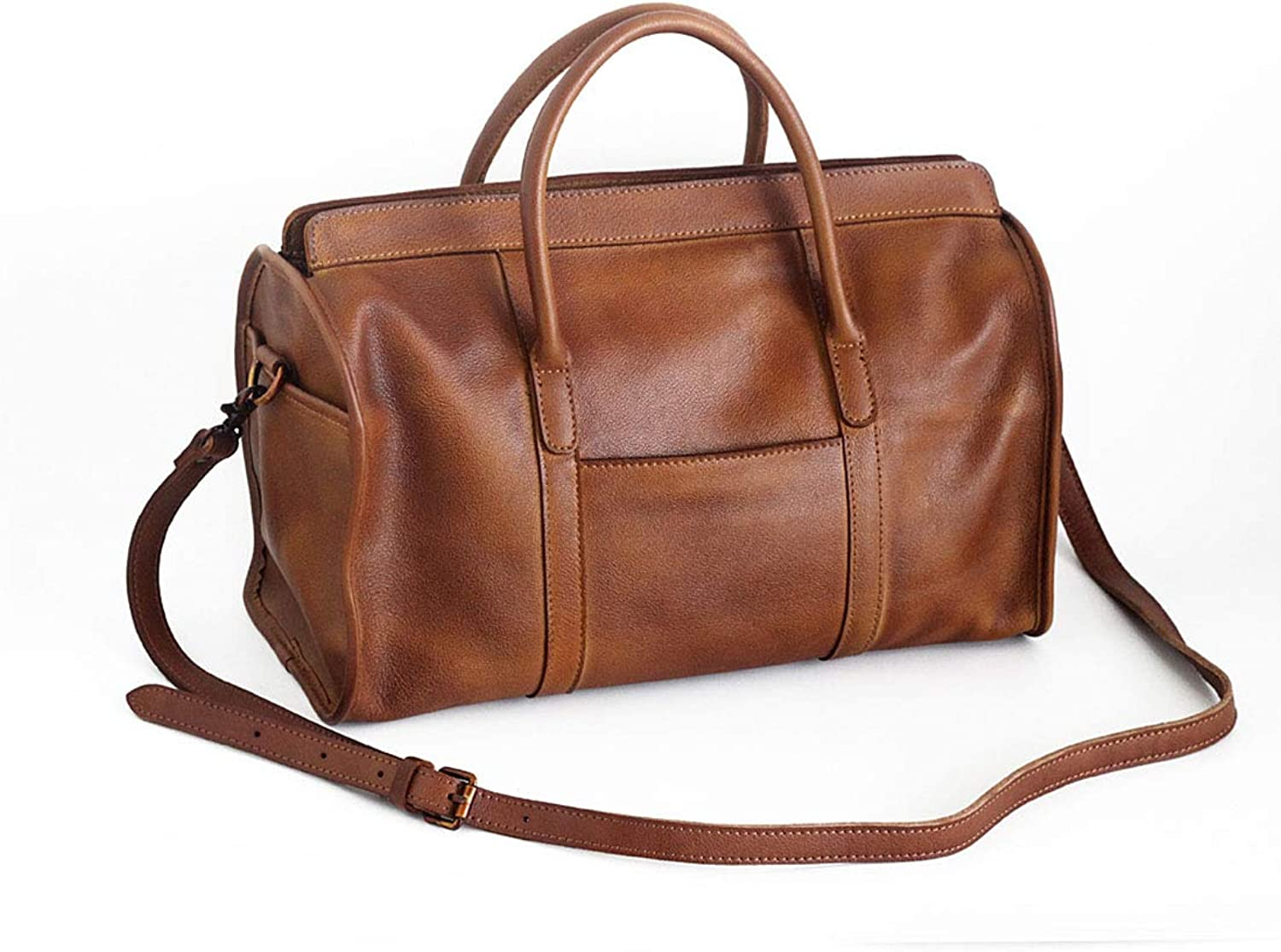 1706f552b The First Layer of Leather Handbags HandRubbed Shoulder Messenger ...