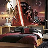 RoomMates JL1369M Star Wars The Force Awakens Ep VII Water Activated Removable Wall Mural - 10.5 ft. x 6 ft.