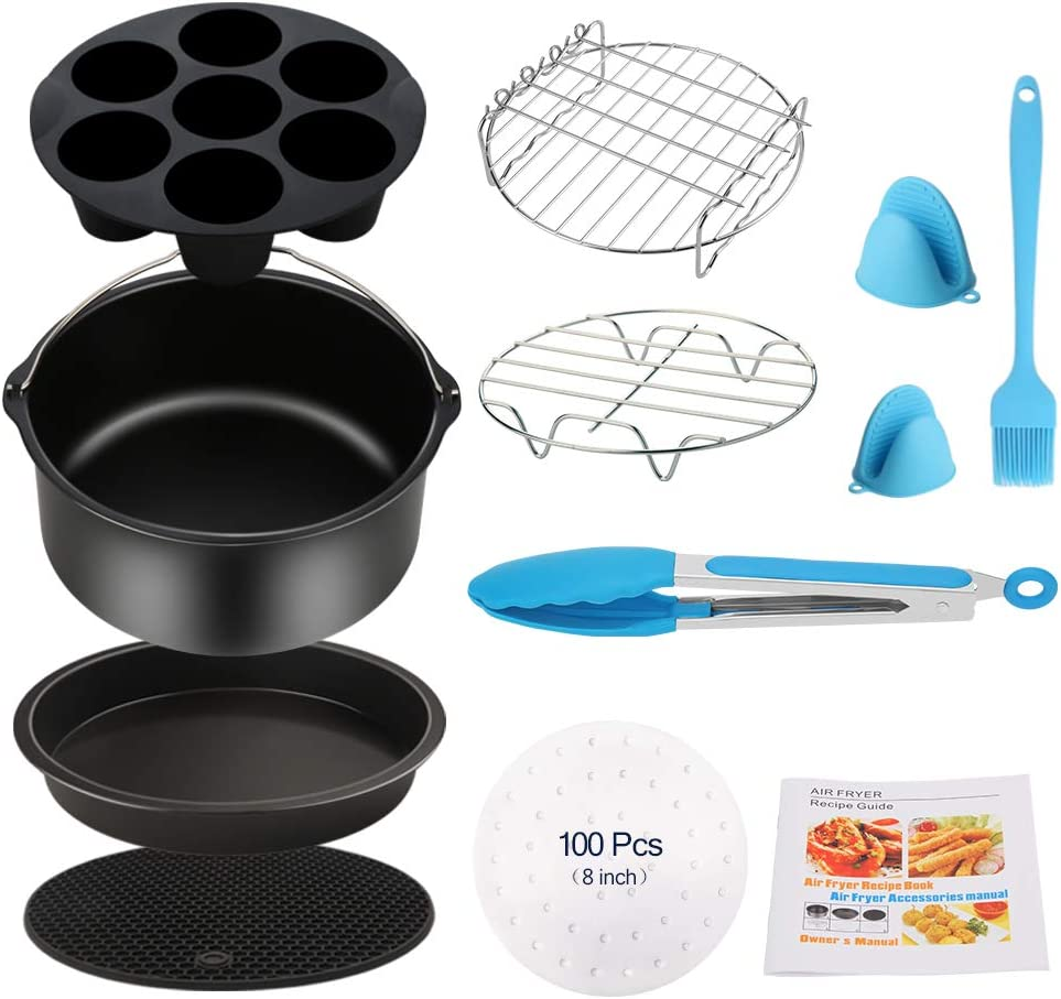 Air Fryer Accessories Challenge the lowest price of Japan 11PCS for Seasonal Wrap Introduction Ninja Ultrean Phillips Vremi