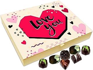 Chocholik Fathers Day Gift Box - Love You Dad Chocolate Box - 20pc