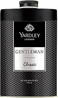 Yardley London Gentleman Classic Deodorizing Talc for Men, 250g