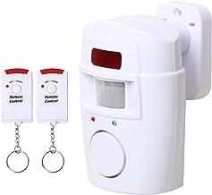 TRIXES Tuinschuur Draadloze Sensor Alarm – Huisbeveiliging – Batterijgevoed – voor Zomerhuisjes Garages Caravans - – Alarm...