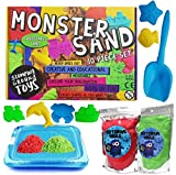 Monster Sand 10-teiliges Set – Magic Motion Play Sand mit Kinetik-Formel