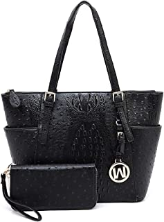 Best croco embossed handbags Reviews