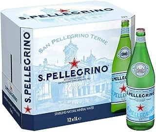 San Pellegrino Sparkling Water -Glass - 12 x 1 ltr(Pack of 12)