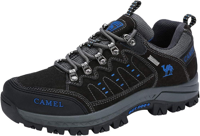 CAMEL CROWN Hiking shoes Men Outdoor Non Slip Low Top Sneakers Unisex Trekking Walking Climbing Trainers Boots