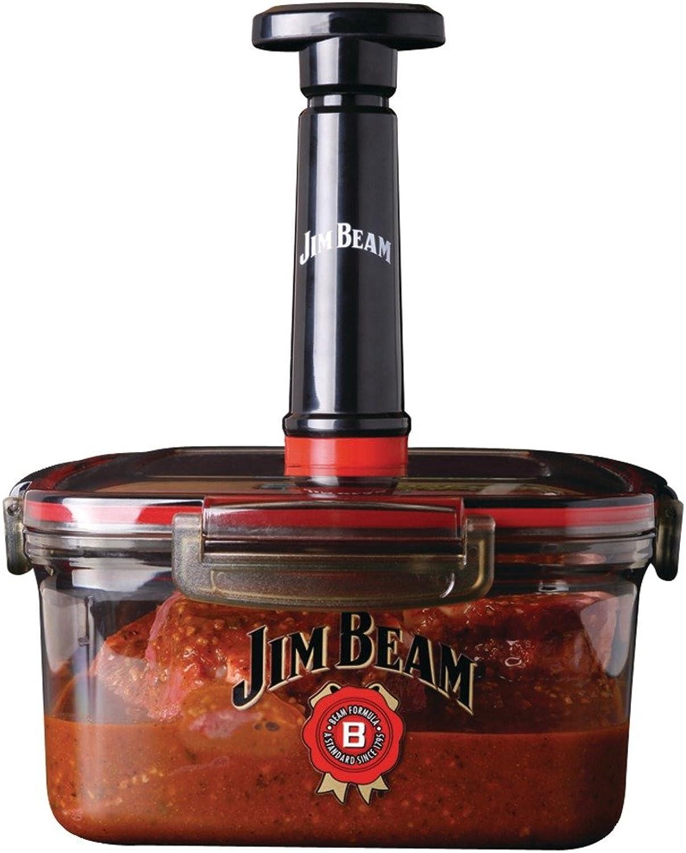 Jim Beam JB0144 Vacuum Seal Marinade Box