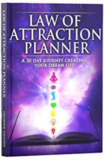 Freedom Mastery Law of Attraction Goal Planner & Organizer. Deluxe Daily