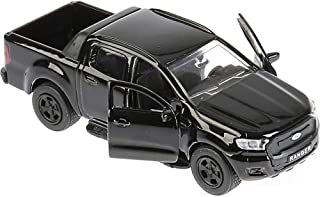 Ford Ranger Toy Model Car - 1/36 Scale Diecast Model Off Road Pickup Truck Metallic Black Classic American Car - Russian C...