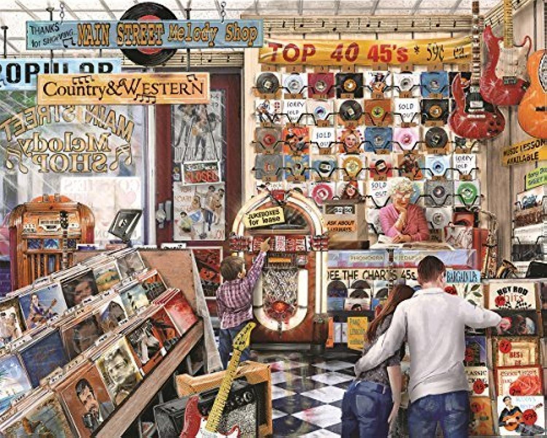 mejor precio Springbok Springbok Springbok Puzzles The Melody Shop Jigsaw Puzzle (1000 Piece) by Springbok  ahorrar en el despacho