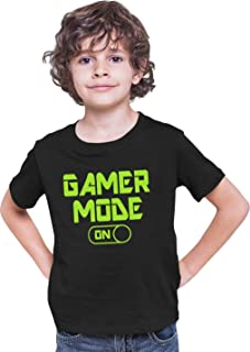 Go All Out Youth Gamer Mode On Funny Gaming T-Shirt