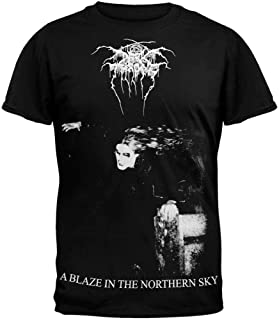 Darkthrone - Mens A Blaze In The Northern Sky T-shirt Small Black
