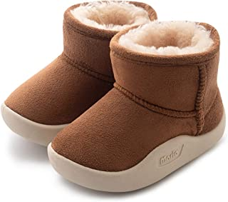 CIOR Baby Toddler Snow Boots Winter Warm Infant Bootie...
