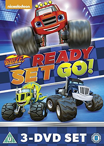 Blaze And The Monster Machines: Ready, Set, Go Collection [DVD] [UK Import]