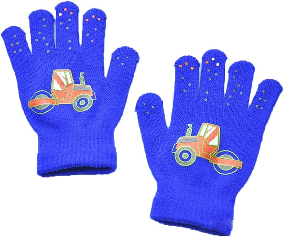 WBDL Children Gloves Winter Baby Boys Girls Warm Gloves Infant Baby Mittens Children Toddler Kids Full Finger Mittens