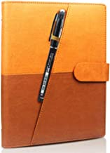 Idol Memory Smart Reusable Notebook with Durable Leather Cover - Digital Notepad for Writing Lists, Taking Notes, Sketch A...