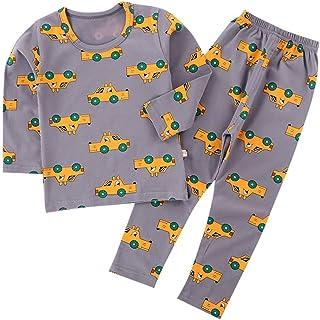 ROTOTO bebe Newborn Baby Boys Girls Unisex Snug-Fit Pajamas Long Sleeve Sets Pjs Kids Sleepwear
