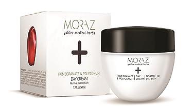 Moraz Day Cream for Normal to Oily Skin+ Pomegranate & Polygonum (1.7 oz. 50 ml)