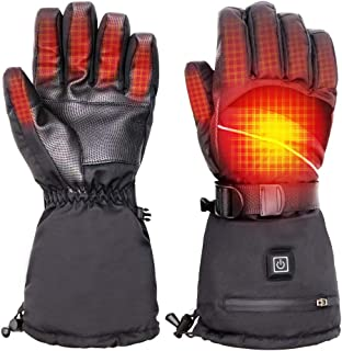 battery heated ski mittens