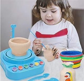 Mini Electric Pottery Wheel Machine, Pottery Wheel Art Craft Kit With 8 DIY Tools, For Kids/Ceramic Work/Ceramics Clay Art...