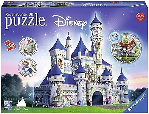 Disney Schloss  Erleben Sie Puzzeln in der 3. Dimension