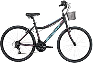 Bicicleta Mobilidade Schwinn Dakota Aro 26 c/Cesto 21 Vel