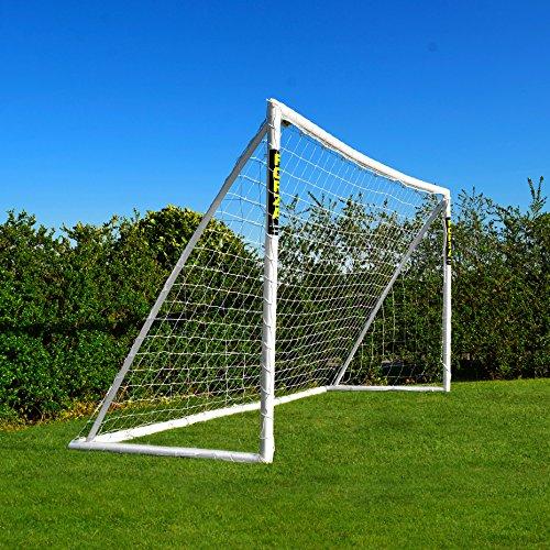 Net World Sports Forza Fußballtore – das Beste Tor bei jedem Wetter – 5 Größen (3,7m x 1,8m mit einem Klicksystem)