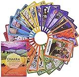 MAZ Tarotkarten Tarot Chakra Kartenbrett Deck Spiele Spielkarten Für Partyspiel Mit Pdf-Reiseführer