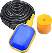Nxtop 4M Cable Float Switch Water Level Controller for Tank Pump Sump Pump, Water Tank
