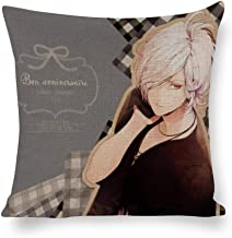 BSDHGSDH Decorated Cotton and Linen Throw Pillow Animation Diabolik Lovers (10),Classic Animation,Adult Unisex Crew 5555cm