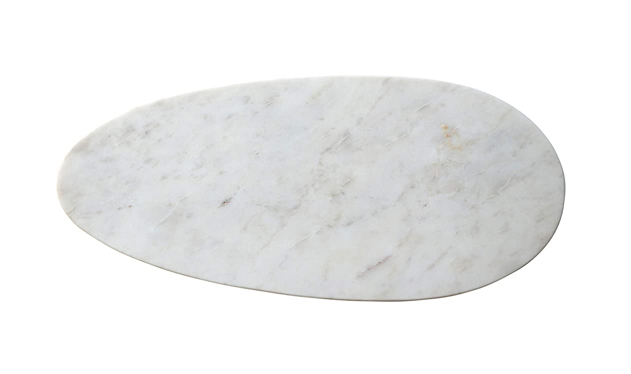 Creative Co-op Small White Marble Cheese/Cutting Board, gzwekxfodkh54373
