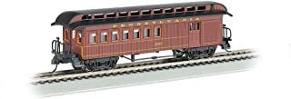 Bachmann Industries Combine Prr Ho Scale Old-Time Car with Round-End Clerestory Roof