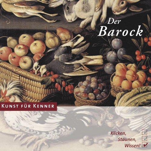 Kunst für Kenner - Der Barock