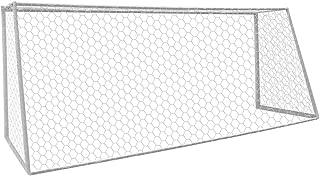Aoneky Red para Portería de Fútbol de Poliéster - 3m x 2m/ 7.3m x 2.5m - Cuerda de 4mm de Diámetro - Red de Reemplazo de Portería de Fútbol para Formación Práctica Entrenamiento Partido, Sin Marco