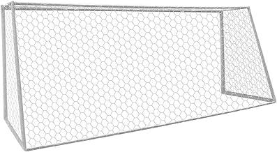 Aoneky Polyester Voetbalnet - 7.32m x 2.44m / 3m x 2m, 4 mm Voetbaldoelnet, Direct Set-up-net, Vervangend Net, Eenvoudig o...