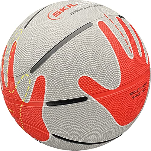 Baden SkilCoach Shooter's - Balón de Baloncesto de Goma, 27.5 Pulgadas