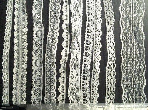 CraftbuddyUS 20 Meters of Asstd White Vintage Lace Bridal Wedding Trim Ribbon, Craft, Card Making