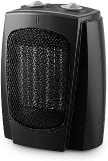 ZHHL Calentadores de ventilador, radiador de escritorio doméstico - Tecnología de calor de cerámica PTC con 3 configuraciones de calor, protección contra sobrecalentamiento