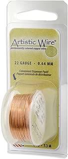 Artistic Wire Beadalon, 32 Gauge, Bare Copper, 30 yd (27.4 m) Craft Wire