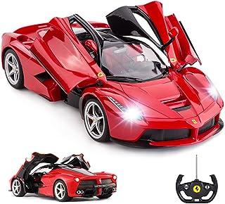 RASTAR RC Car | 1:14 Scale Ferrari LaFerrari Radio Remote Control R/C Toy Car Model Vehicle for Boys Kids, Red