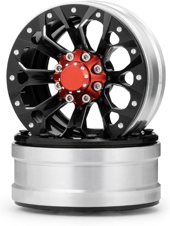 ROVJK 0 1.9inch Wheel Rims Some reservation Metal Hubs 10 for Beadlock 1 SC latest