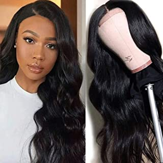 360 Full Lace Wigs Human Hair Pre Plucked Curly 9A Virgin Brazilian Human Hair Wigs for Black Women 150% Density 360 Lace ...